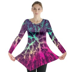 Just A Stargazer Long Sleeve Tunic  by augustinet