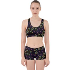 Triangle Shapes                              Work It Out Sports Bra Set