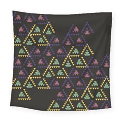 Triangle Shapes                             Fleece Blanket by LalyLauraFLM