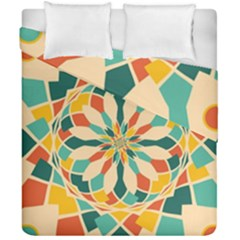 Summer Festival Duvet Cover Double Side (california King Size) by linceazul