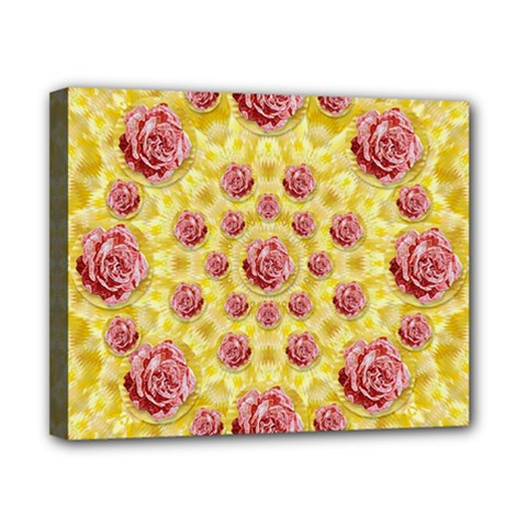 Roses And Fantasy Roses Canvas 10  X 8  by pepitasart