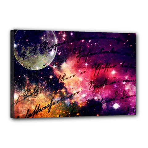 Letter From Outer Space Canvas 18  X 12  by augustinet