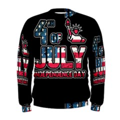 4th Of July Independence Day Men s Sweatshirt