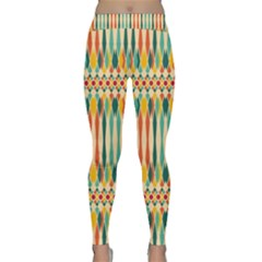Festive Pattern Classic Yoga Leggings by linceazul