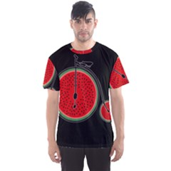 Watermelon Bicycle  Men s Sports Mesh Tee