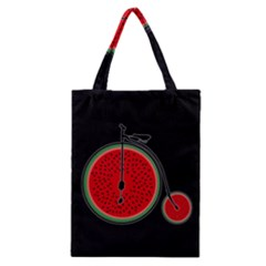 Watermelon Bicycle  Classic Tote Bag