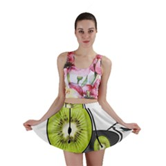 Kiwi Bicycle  Mini Skirt