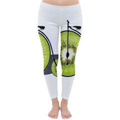 Kiwi Bicycle  Classic Winter Leggings