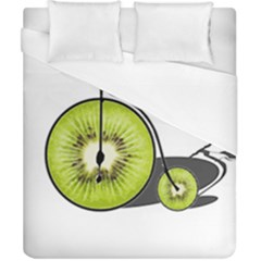 Kiwi Bicycle  Duvet Cover (california King Size) by Valentinaart