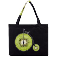 Kiwi Bicycle  Mini Tote Bag