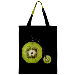 Kiwi Bicycle  Zipper Classic Tote Bag by Valentinaart