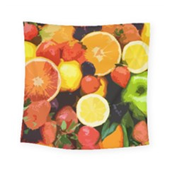 Fruits Pattern Square Tapestry (small)