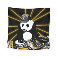 Deejay Panda Square Tapestry (small)