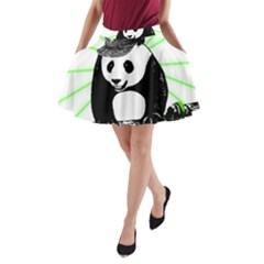 Deejay Panda A Line Pocket Skirt
