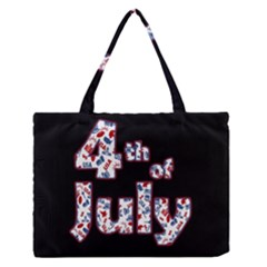 4th Of July Independence Day Medium Zipper Tote Bag by Valentinaart