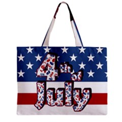 4th Of July Independence Day Zipper Mini Tote Bag