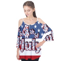 4th Of July Independence Day Flutter Tees