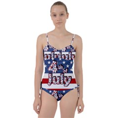 4th Of July Independence Day Sweetheart Tankini Set