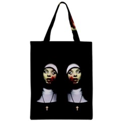 Horror Nuns Classic Tote Bag by Valentinaart