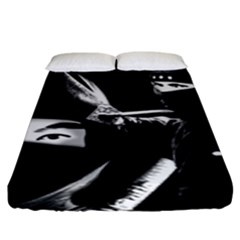Ninja Fitted Sheet (king Size) by Valentinaart