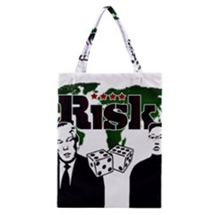 Nuclear Explosion Trump And Kim Jong Classic Tote Bag
