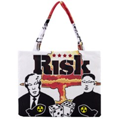 Nuclear Explosion Trump And Kim Jong Mini Tote Bag
