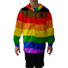 Philadelphia Pride Flag Hooded Wind Breaker (kids)