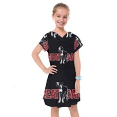 Great Dane Kids  Drop Waist Dress by Valentinaart
