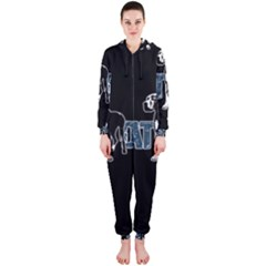 Great Dane Hooded Jumpsuit (ladies)