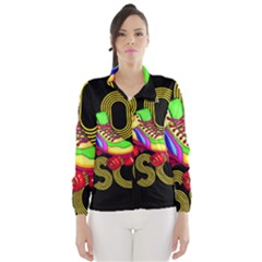 Roller Skater 80s Wind Breaker (women)