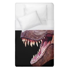 Dinosaurs T-rex Duvet Cover (single Size) by Valentinaart