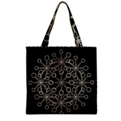 Ornate Chained Atrwork Grocery Tote Bag by dflcprints
