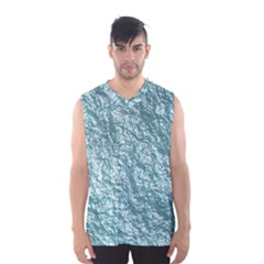 Crumpled Foil 17e Men s Basketball Tank Top by MoreColorsinLife