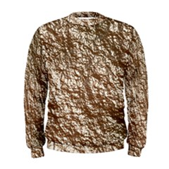 Crumpled Foil 17a Men s Sweatshirt by MoreColorsinLife
