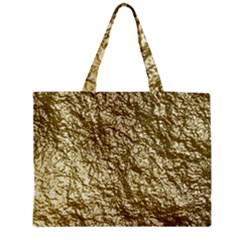 Crumpled Foil 17c Medium Tote Bag by MoreColorsinLife