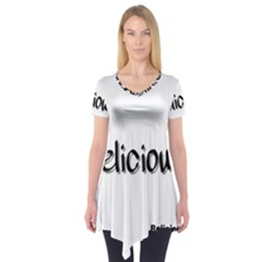 Belicious Logo Short Sleeve Tunic  by beliciousworld