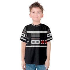 Video Game Controller 80s Kids  Cotton Tee