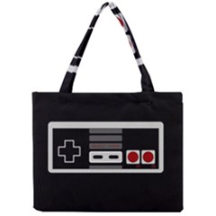 Video Game Controller 80s Mini Tote Bag by Valentinaart
