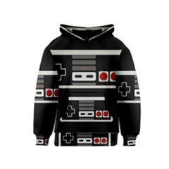 Video Game Controller 80s Kids  Pullover Hoodie by Valentinaart