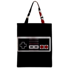 Video Game Controller 80s Zipper Classic Tote Bag by Valentinaart