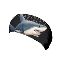 The Shark Movie Yoga Headband by Valentinaart
