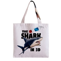 The Shark Movie Grocery Tote Bag by Valentinaart