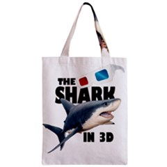 The Shark Movie Zipper Classic Tote Bag by Valentinaart
