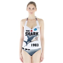The Shark Movie Halter Swimsuit