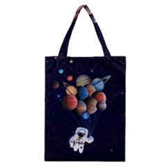 Planets  Classic Tote Bag by Valentinaart