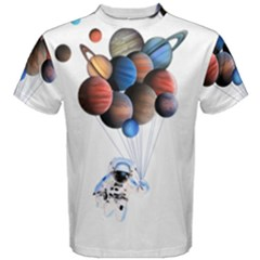 Planets  Men s Cotton Tee