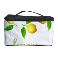 When Life Gives You Lemons Cosmetic Storage Case by Valentinaart