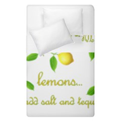 When Life Gives You Lemons Duvet Cover Double Side (single Size)