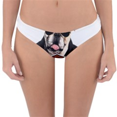 Bulldog Biker Reversible Hipster Bikini Bottoms by Valentinaart