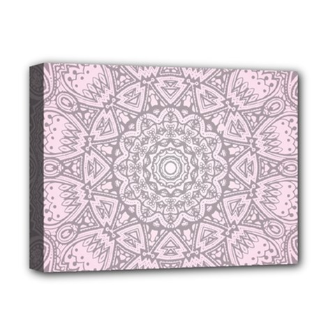 Pink Mandala art  Deluxe Canvas 16  x 12